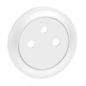 Лицевая панель 2К Celiane - белый