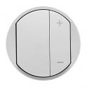Лицевая панель для светорегулятора Celiane - белый