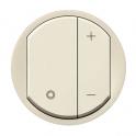 Лицевая панель для светорегулятора Celiane - слоновая кость