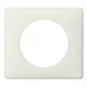 Рамка 1 пост - Celiane - белая перкаль
