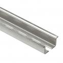Нарезаемая рейка с продолговатыми отверстиями глубиной 15мм-длина 2м
