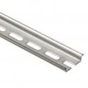 Нарезаемая рейка с продолговатыми отверстиями глубиной 7,5 мм - длина 2 м
