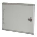 Дверь металлическая плоская XL³ 400 - для шкафов и щитов высотой 1200 мм