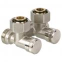 Клапан запорный - RLV-K 3/4''x3/4'' - угловой