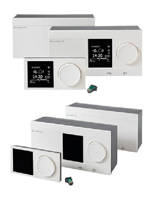 Электронные контроллеры тепловых пунктов