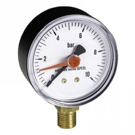 "Манометр радиальный 1/4"" 10 бар диаметр 63 мм - Emmeti"