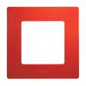 Рамка 1 пост Niloe/Etika - красный
