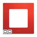Рамка 2 поста Niloe/Etika - красный