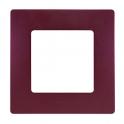 Рамка 1 пост - Niloe/Etika - сливовый
