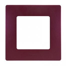 Рамка 1 пост - Niloe - сливовый