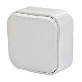 Выключатель без фиксации - Quteo - белый