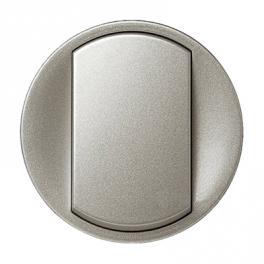 Лицевая панель выключателя 1 клавиша - Celiane - титан