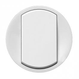 Лицевая панель выключателя - Celiane - белый