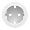 Лицевая панель для розетки 2K+3 Celiane - белый