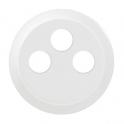 Лицевая панель для розетки TV-FM-SAT Celiane - белый