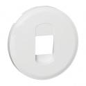 Лицевая панель розетки для колонок Celiane - белый