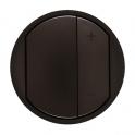 Лицевая панель для кнопочного светорегулятора Celiane - графит