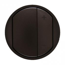 Лицевая панель для кнопочного светорегулятора - Celiane - графит