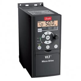 Преобразователь частоты - Danfoss VLT Micro Drive 0,75 кВт, 3x380 В