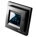 Терморегулятор с сенсорным дисплеем - DEVIreg Touch Black