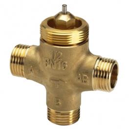Клапан трехходовой - VZL3 - DN15, Kv-1.6м³/ч