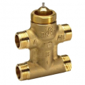Three-way valve - four-ported - VZL4 - DN15 - Kv-0.63m³ / h