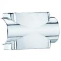 Лицевая панель для углового фитинга HM - хром - Korado