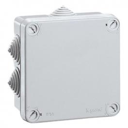 Коробка - Программа Plexo - IP 55 - IK 07 - квадратная - 65х65х40 мм
