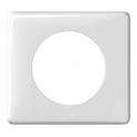Рамка 1 пост - Celiane - белый глянец
