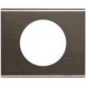 Рамка 1 пост - Celiane - черный никель