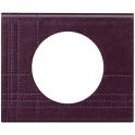 Рамка 1 пост - Celiane - кожа пурпур