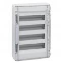 Распределительный щиток 72 модуля - XL³ 125 - прозрачная дверь
