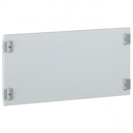 Сплошная металлическая лицевая панель - высота 300 мм - 24 модуля