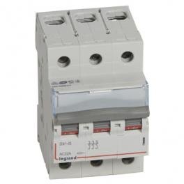 Выключатель - разъединитель - DX³-IS 3P, 125A