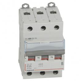 Выключатель - разъединитель - DX³-IS 3P, 63A