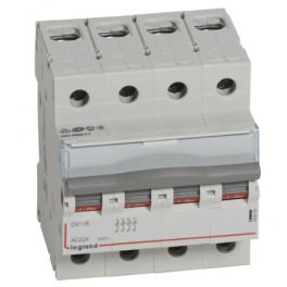 Выключатель - разъединитель - DX³-IS 4P, 125A