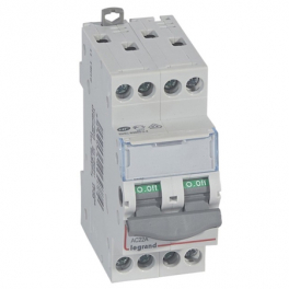 Выключатель - разъединитель - DX³-IS 4P, 20A