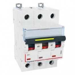 Автоматический выключатель - DX³ 10000 3P, C125А