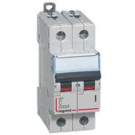 Автоматический выключатель - DX³ 6000 2P, C63A
