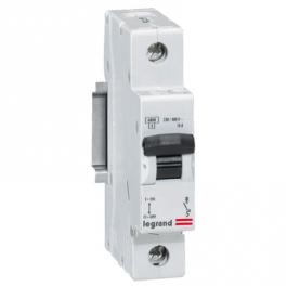 Автоматический выключатель - LR 1P, C50A, 6kA