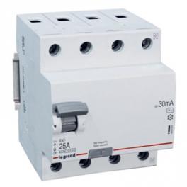 УЗО - ВДТ RX³ 4P, AC63A, 30mA