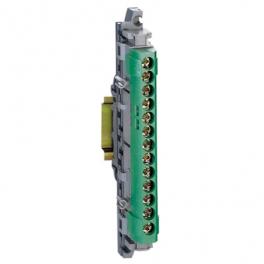 Клеммная колодка IP 2x113мм - земля - зеленый
