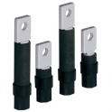 Set of 4 flat rear terminals for DPX / DPX-IS