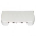 Заглушка торцевая для односекционных кабель-каналов DLP - 35/50х80