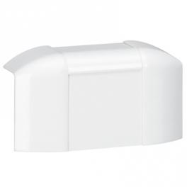 Ответвление т-образное для монтажа у потолка - DLPlus глубина 16 мм - белый