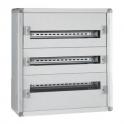 Распределительный шкаф с металлическим корпусом 72 м. - XL³ 160