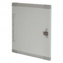 Дверь металлическая плоская XL³ 400 - для шкафов и щитов высотой 1900 мм
