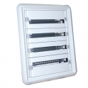 Шкаф распределительный встроенный 96 модулей - XL³ 160