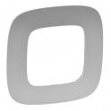 Рамка 1 пост - Valena Allure - алюминий