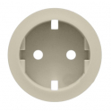 Лицевая панель для розетки 2К+З Celiane - слоновая кость